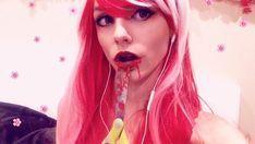 """Anybody else wanna touch my lover"" I just really like Amy Shark tbh #cute #Yandere #yanderegirl #cosplay #cosplayer #cosplaygirl #makeup #flowers #kowaretanezin #vocaloid #fanloid #utauloid #red #cosplaymakeup #cosplayerofinstagram #wig #cosplaywig"