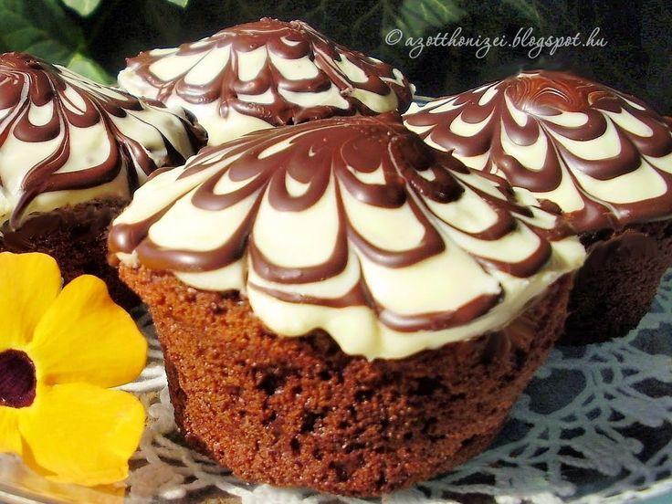 Az otthon ízei: Kakaós pókháló muffin
