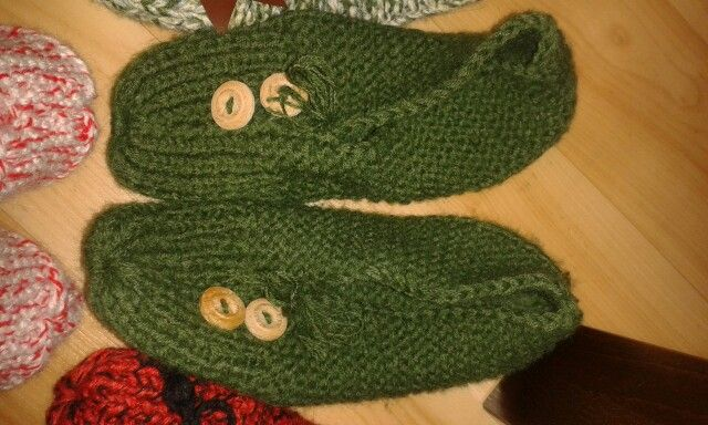 Slippers#knitting