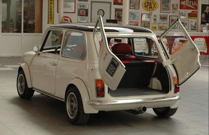 Standard Mini with Split doors!