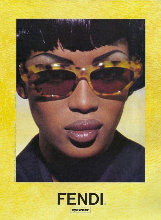 acne—studios: Naomi Campbell for Fendi