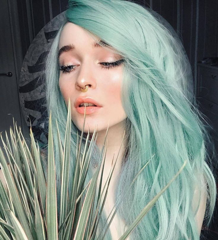 качестве мятный цвет волос картинки напрямую влияет качество