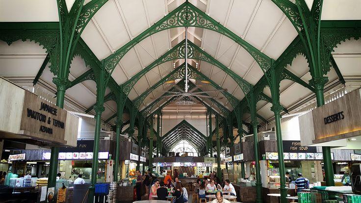 Telok Ayer Market, aka Lau Pa Sat Singapore