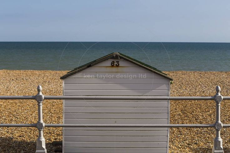 Beach Hut Bexhill England United Kingdom  www.alamy.com/image-details-popup.asp?ARef=FAJA8G marketplace.500px.com/photos/135298819 #beach #hut #vacation #holiday #seaside #cabin #coast #sky #shed #sunny #sea #tourism #ocean #travel #white #house #leisure #england #uk #scenic #architecture #coastal #shore #british #peaceful #day #nobody #outdoor #resort #traditional