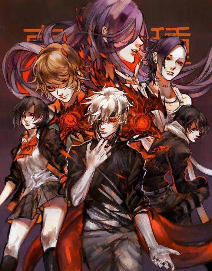 Ghim của Kira Kira trên Tokyo ghoul Anime và Kinh dị