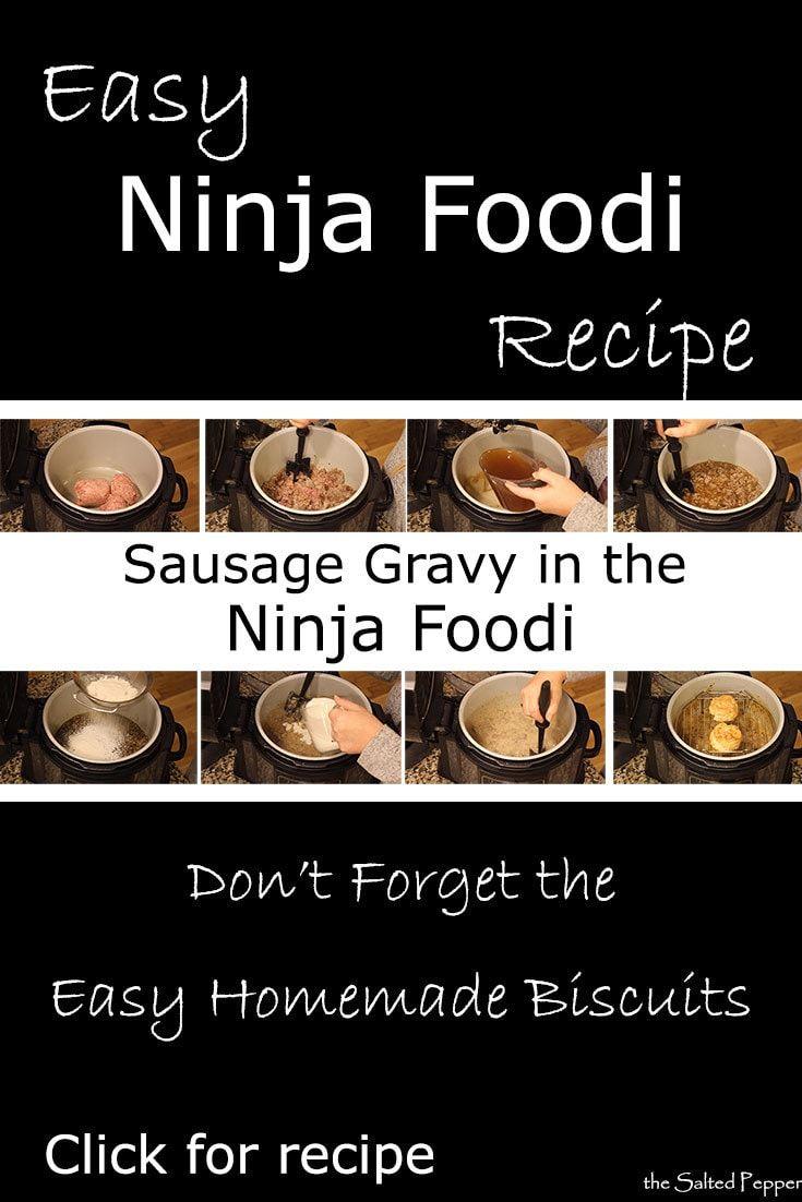 Sausage Gravy in the Ninja Foodi