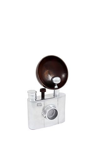 """This vintage inspired camera with wooden detail will add interest to your study or living space.<div class=""""pdpDescContent""""><BR /><b class=""""pdpDesc"""">Dimensions:</b><BR />L16xW6xH28 cm</div>"""