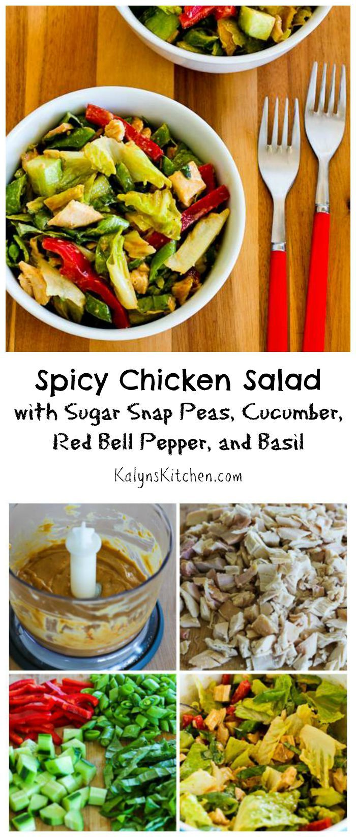 ... Red Bell Pepper, and Basil. It's the spicy peanut butter dressing that