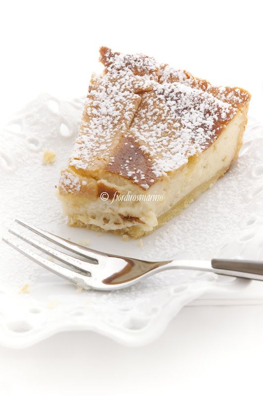 Crostata alla ricotta. Ah yummm! ~ jut need one of the Italian Beach ladies to translate:-)