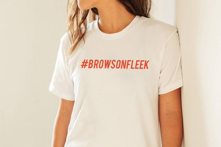 Womans #BROWSONFLEEK Fitted Tumblr Hashtag Funny Blog T Shirt New S - XL by ToffeeTees on Etsy