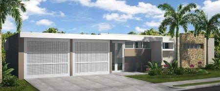 Fachadas de exteriores de casas terreras peque as puerto for Ideas para fachadas de casas pequenas
