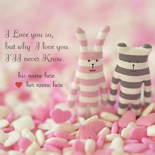 Lovely Love Quotes Images With Couple Name Pic Download I Love You Classy Photo Editor With Love Quote Adorable Download Lm