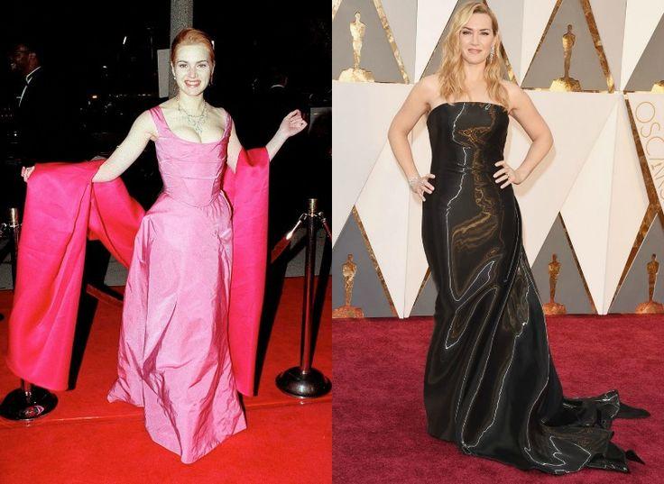 Celebrity na Oscarech tehdy a nyní - Kate Winslet