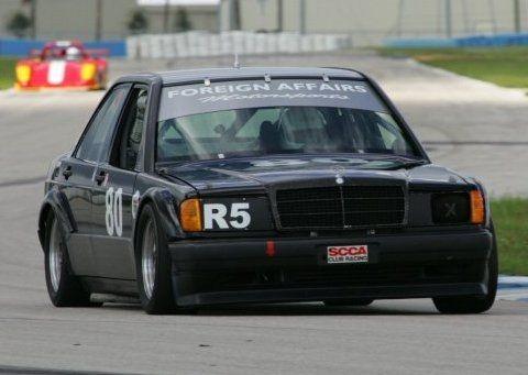 One-Off: 1985 Mercedes 190E SCCA Race Car