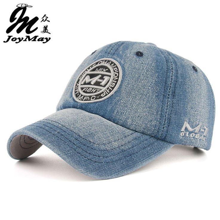 Nueva llegada de la alta calidad demin snapback cap gorra de béisbol de 5 colores Jean bordado insignia sombrero para hombres mujeres de la muchacha del casquillo B346