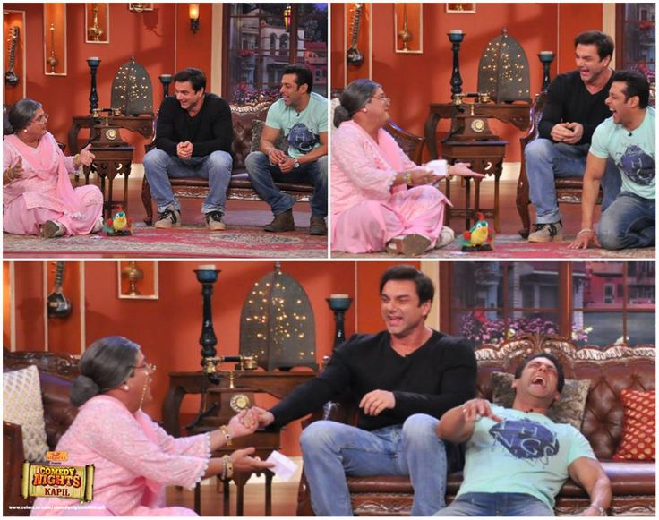 SALMAN KHAN AT COMEDY NIGHTS WITH KAPIL SHOW