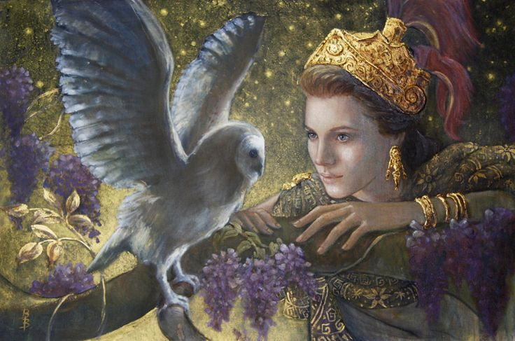 owl and goddess   Brenda Burke Collection - Teri Galleries Fine Art Gallery offering New ...