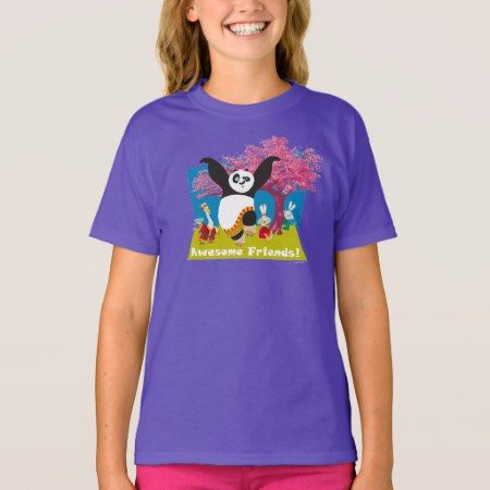 Po's Awesome Friends T-Shirt - tap, personalize, buy right now!