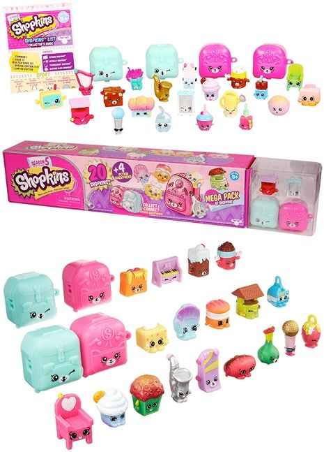 DEAL: Shopkins S5 Mega Pack only $10!!! Includes 20 Shopkins! #deal #sale #shopkins
