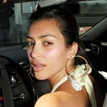 Kim Kardashian Without Makeup & see how you can get her made up look