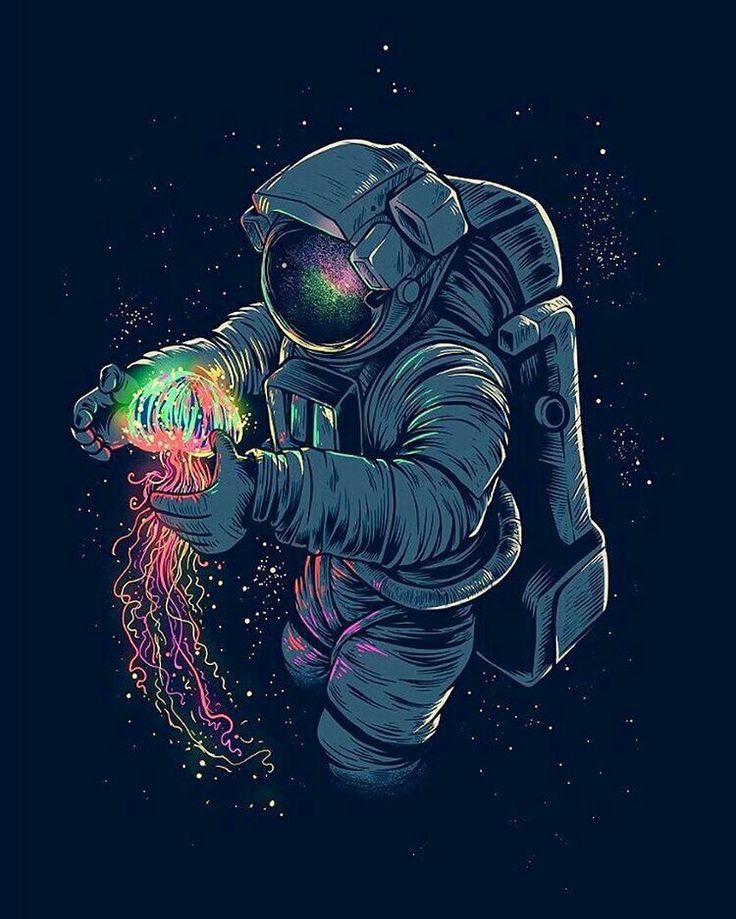Cosmos astronaut