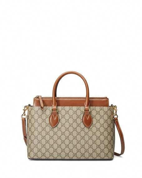 e176b5d537d7 Get free shipping on Gucci GG Supreme Tote Bag