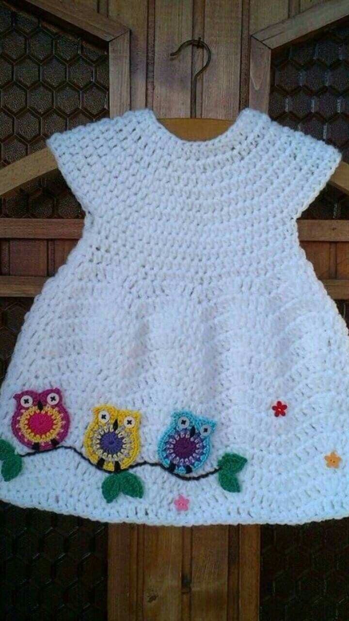 10 Best Little Girl Stuff Images On Pinterest Crochet Baby Tm Diagram Ideas And Tips Juxtapost Child Gown No Sample However Seems Like Purple Coronary Heart Chevron Stylish Costume With Owl Motif Just Repeat Crafter Me