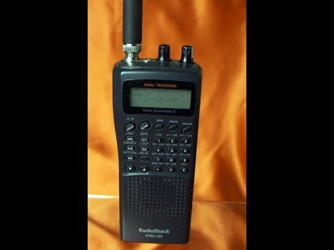 Vintage Radio Shack Pro 94 Police Aviation Fire And