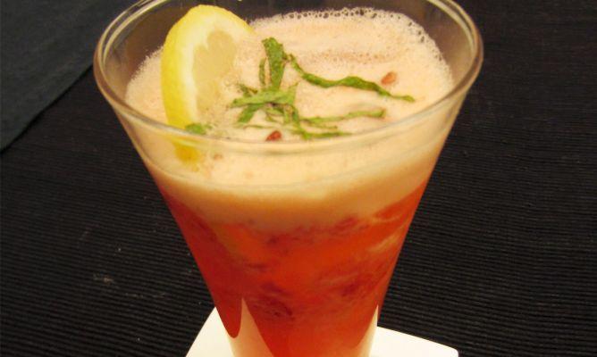 Limonada de fresas y jengibre - Juan Mari Arzak
