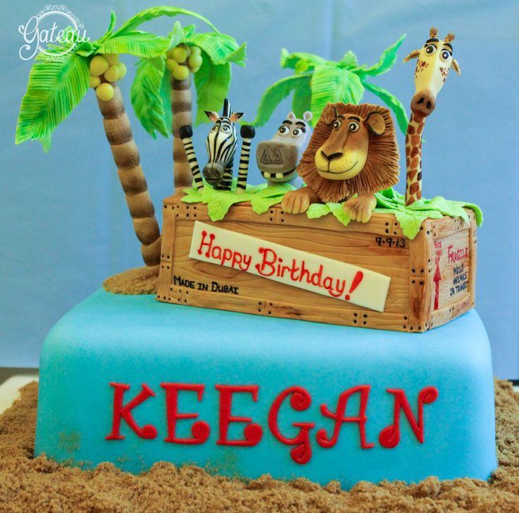 1000  images about Madagascar Cakes on Pinterest   Jungle animals ...