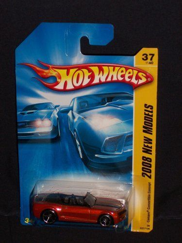 Hot Wheels 2008 037 New Models Camaro Convertible Concept RED 1:64 Scale. #Wheels #Models #Camaro #Convertible #Concept #Scale