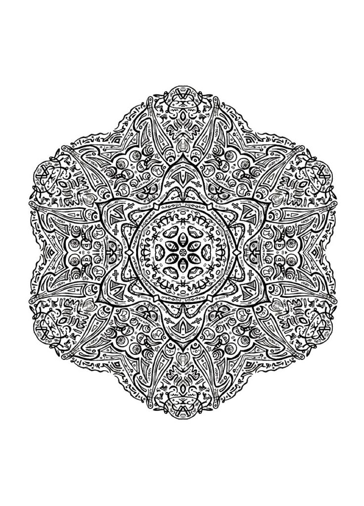 800 best images about Basic mandala