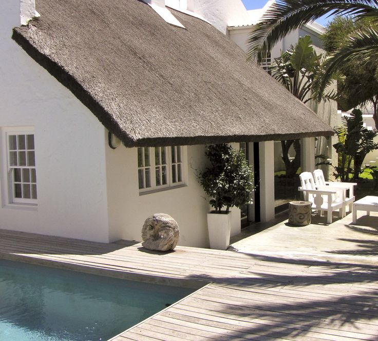 Self catering accommodation, Scarborough, Cape Town  Zenza Ikaya House pool view and outside view of the house.  http://www.capepointroute.co.za/moreinfoAccommodation.php?aID=189