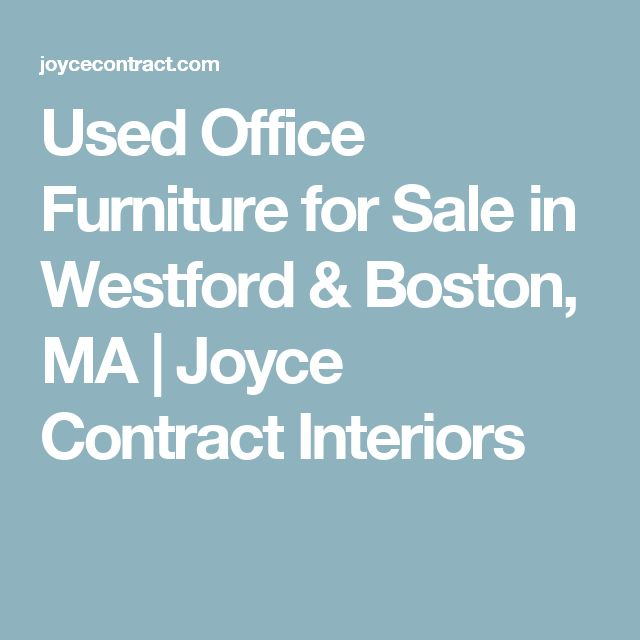 Used Office Furniture for Sale in Westford & Boston, MA | Joyce Contract Interiors