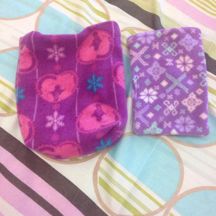 Pink And Purple Pouch