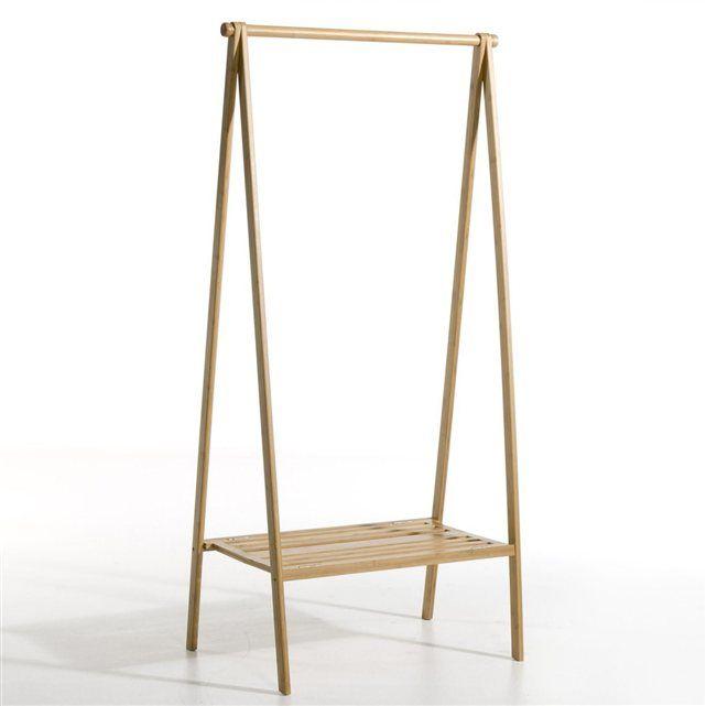 Portant pliable avec étagère, bambou La Redoute Interieurs