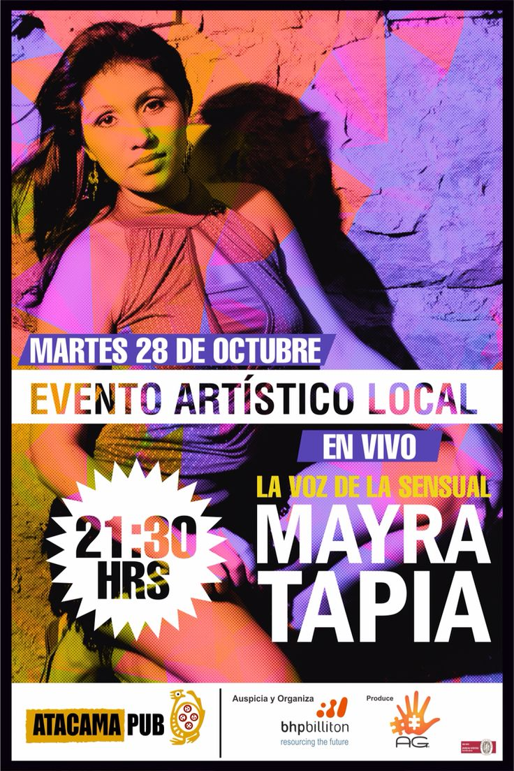 Afiche mayra tapia