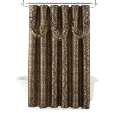 jcp | Royal Velvet® Madrid Shower Curtain