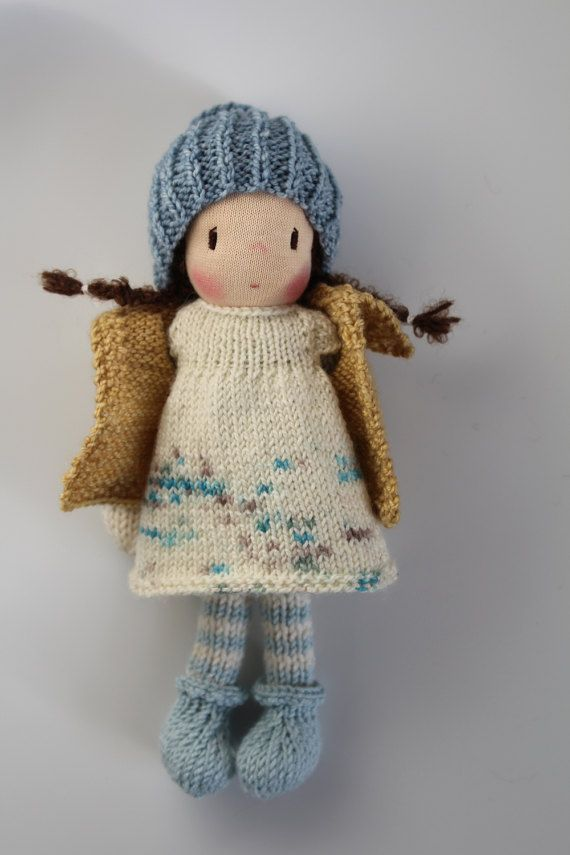 Knitting Patterns Little Dolls : Best 25+ Knitted dolls ideas on Pinterest Knitted ...