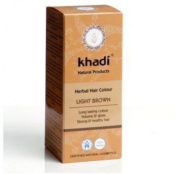 Vopsea de par naturala-saten deschis, 100g, Khadi - Sabedoria