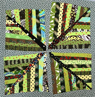 leaves: Scrap Quilts, Snow Fall, Quilts Inspiration, Quilts Blocks, String Quilts, Art Quilts, Baskets Full, Quilts Ideas, Fabrics Art