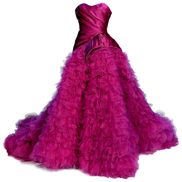 edited by Satinee - Christian Siriano ❤ liked on Polyvore