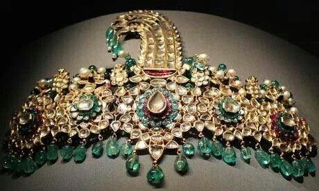 Mughal Turban Ornament | Hair Combs: India, Sri Lanka ...