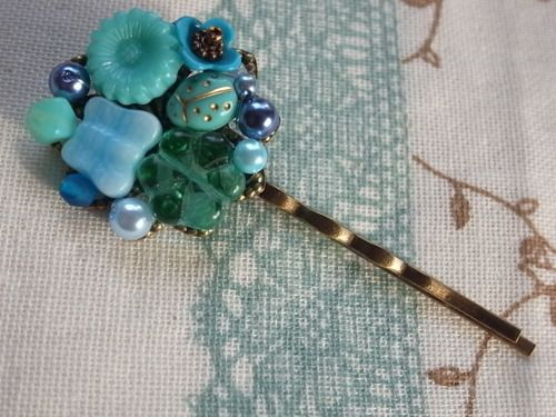 handmade     accessory     crafts beads hairpin    Bobby Pin