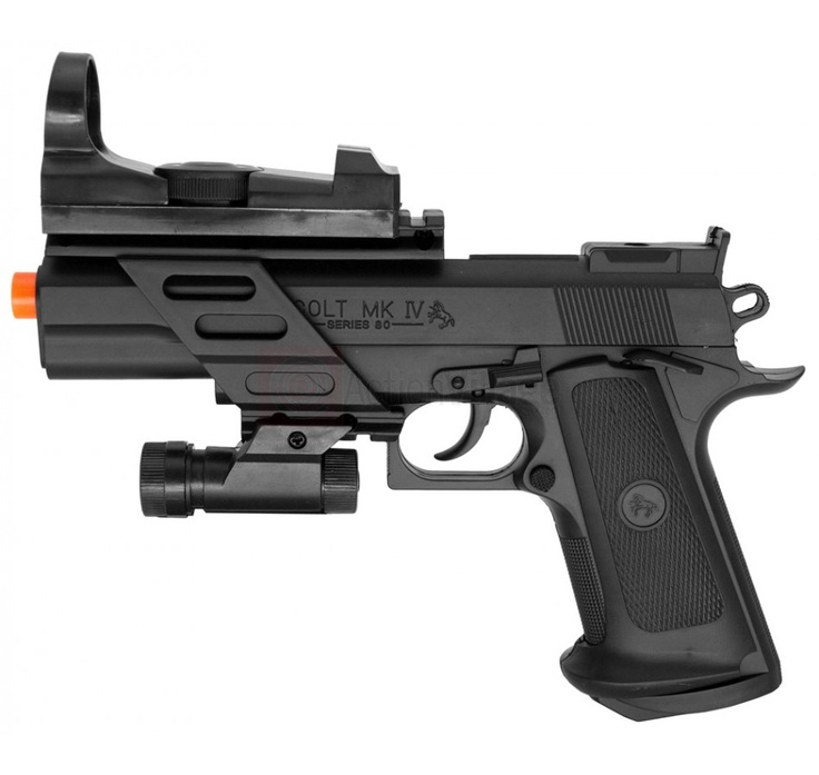 it looks like a colt m1911 on steroids. Find our speedloader now! http://www.amazon.com/shops/raeind