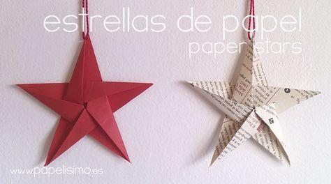 Manualidades fáciles para Navidad: como hacer unaestrella de papel de origami. Se acerca la Navidad, y durante este mes voy a irpreparandounas manualidades para que ...