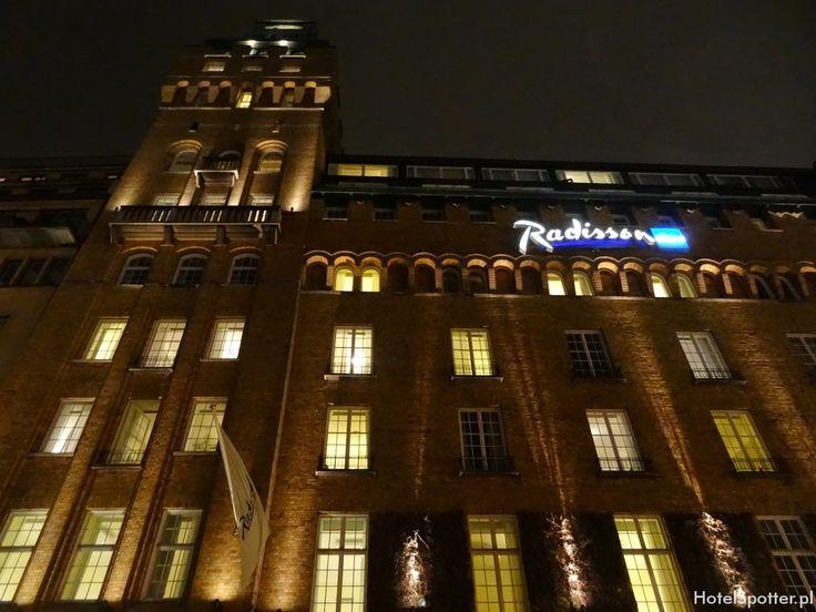 Radisson Blu Strand Hotel, Stockholm - wyglad zewnetrzny