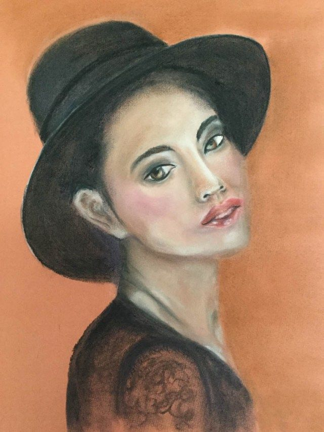 PASTELLMALEREI - Portrait 4 by Daniela Rogall - Portraits mit PanPastel