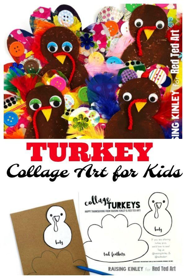 Cardboard Turkey Craft For Preschoolers Paper Crafts Ideas