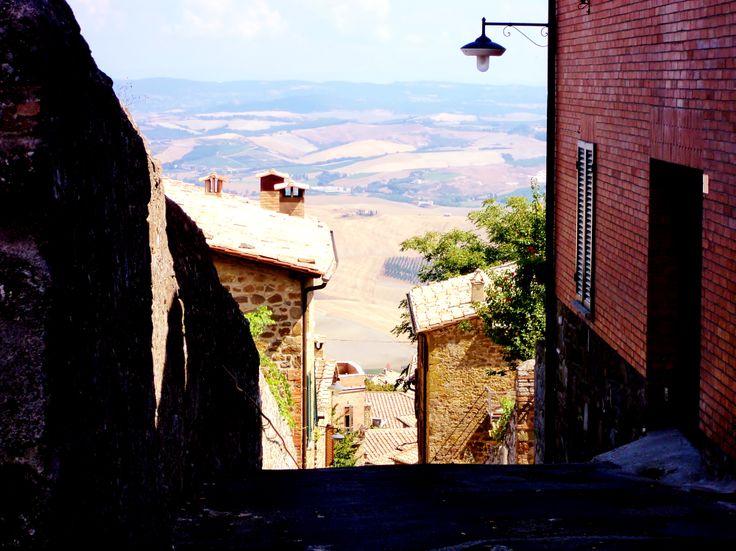 Montalcino, a wonderful view